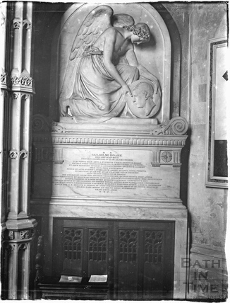 William Hoare's memorial, Bath Abbey c.1920s