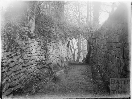 The arch over Pope's Walk, Widcombe c.1920s