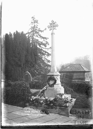 St John the Baptist Church, War memorial, Batheaston c.1920s