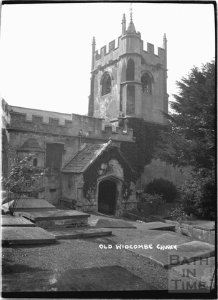 Old Widcombe Church c.1920s