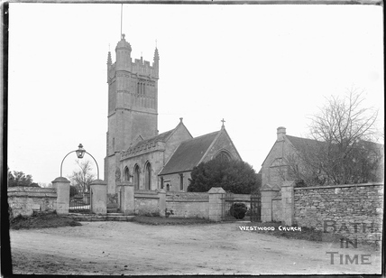 Westwood Church and Manor c.1920s