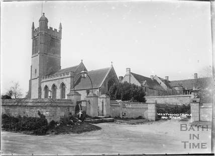 Westwood church and Manor, c.1920s