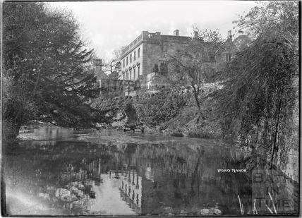 Iford Manor and stream c.1930s