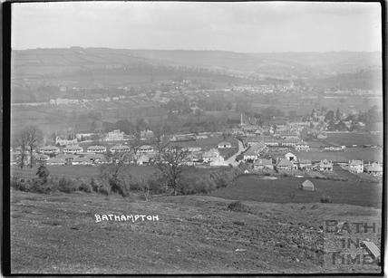 View of Bathampton 1925