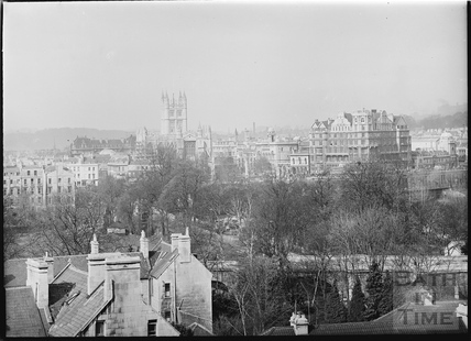 View of Abbey and Empire Hotel from Sydney Buildings c.1920s No.2