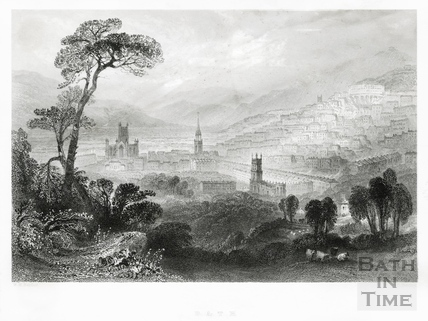 View of Bath 1842