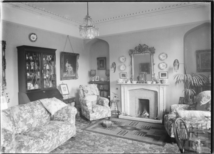 Interior of an unidentified house in Bath c.1920s