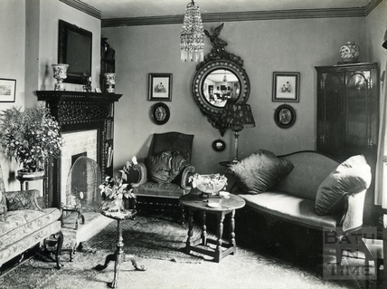 Inside an unknown location's sitting room c.1930s