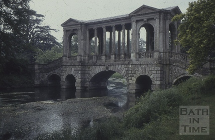 The Palladian Bridge, Wilton 1960s