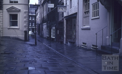 North Parade Passage (Lilliput Alley), Bath 1960s