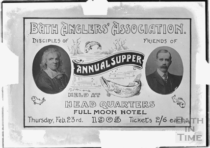 Bath Anglers Association Annual Supper Feb 23rd 1905