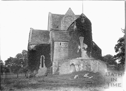 Hinton Priory, Hinton Charterhouse c.1905