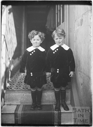 The photographer's twin boys c.1915