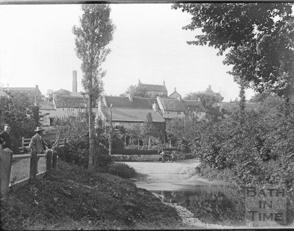 The Ford at Wellow c.1920s