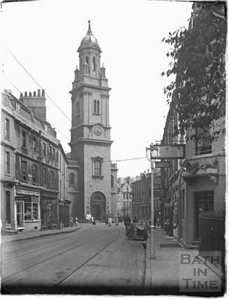 St James Church, Lower Borough Walls c.1910