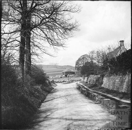 View of a lane in Ditteridge c.1890s