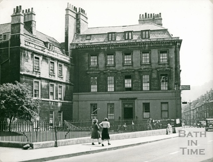The Salvation Army, Chandos House, Westgate Buildings, view of facade c.1941