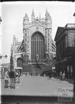 Bath Abbey c.1920s