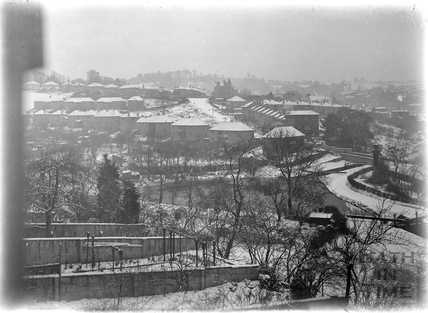 View towards Widcombe from Sydney Buildings, Bath c.1920