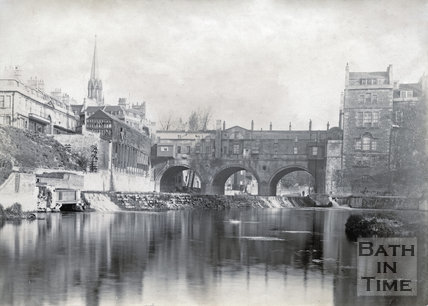 Pulteney Bridge, Bath 1892
