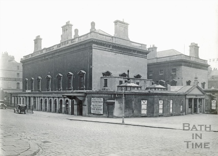 The Assembly Rooms from Bennet Street 1931