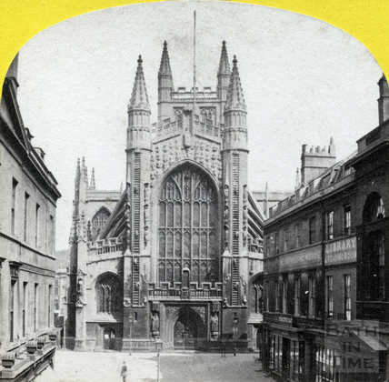 West view of the Abbey c.1870