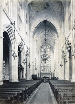 Bath Abbey interior c.1880