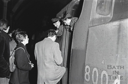The SLS Special trip from Bath to Bournmouth, Sunday 6 March 1966