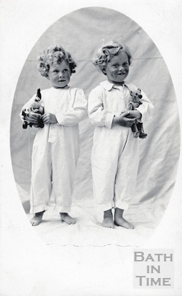 The photographers twin boys aged 3, July 19th 1914