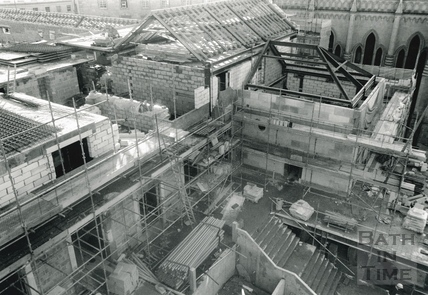 The Podium Centre, under construction 13 February 1989