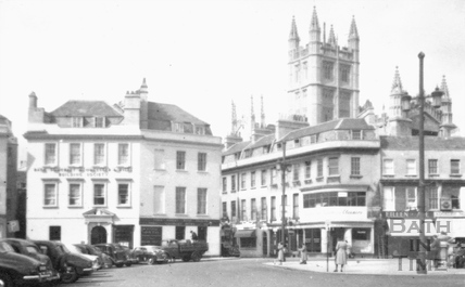 Terrace Walk and entrance to York Street c.1950s