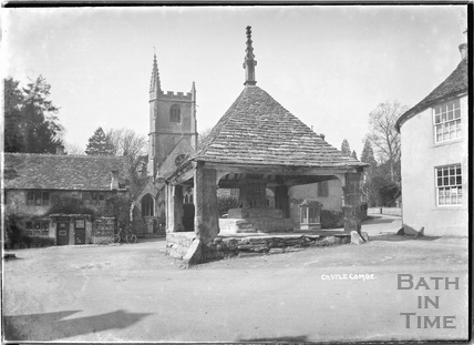 The Market Cross, Castle Combe 1936