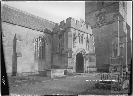 The Porch, Corsham Church, 5 January 1937