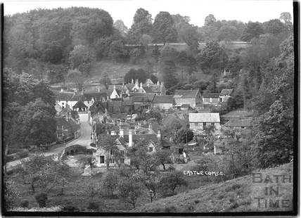 General View of Castle Combe c.1930s