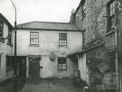 Griffin Court, the rear of Avon Street c.1930s