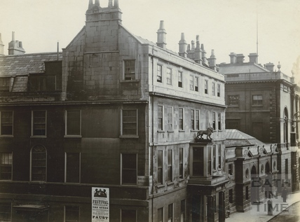 The White Lion, Bridge Street c.1890