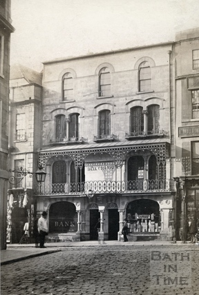 No 25 High Street, Bank Chambers and Wilkinson, engravers c.1868