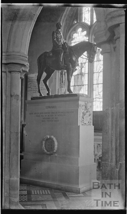 Statue of Edward Horner, Mells Church c.1938
