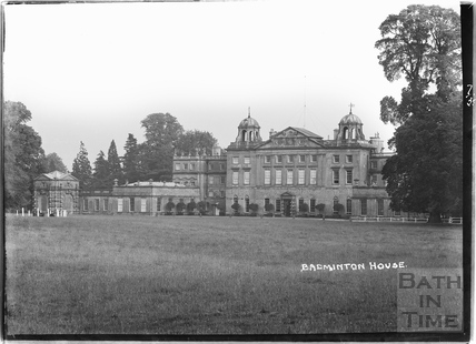 Badminton House, Wiltshire July 1935