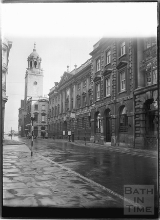 All Saints Church, The Exchange, The Old Post Office, Corn Street, Bristol c.1950
