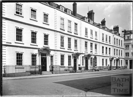 Orchard Street, the north block on the west side, Bristol c.1950