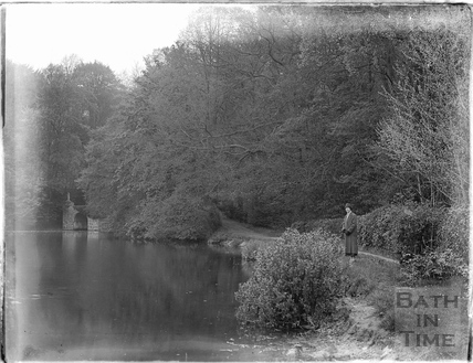 The lake at Orchardleigh, 1926