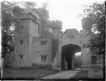 The gatehouse at Orchardleighn 1926