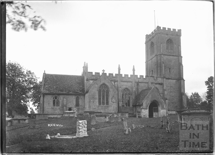 Keevil Church, Wiltshire c.1930