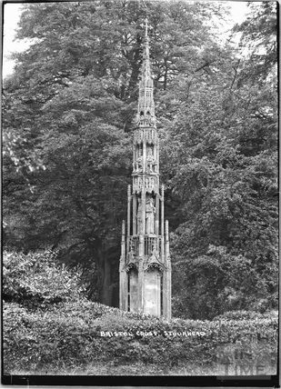The Bristol Cross, Stourhead, Stourton, Wiltshire c.1930