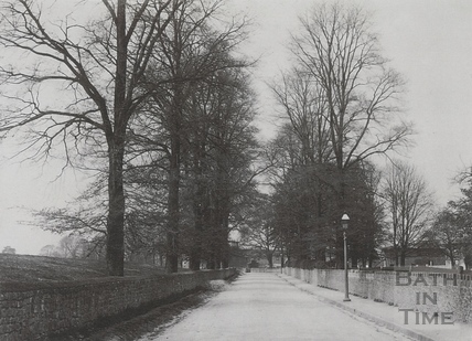 Newton Road, looking west, Twerton c.1903