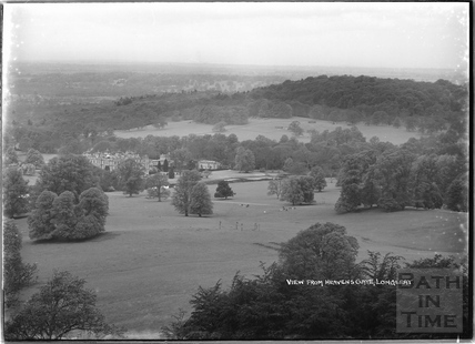 View from Heaven's Gate of Longleat House c. May 1938
