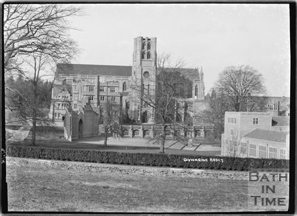 Downside Abbey, Stratton-on-the-Fosse, Somerset, 14 April 1936