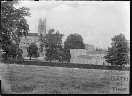 Downside Abbey, Stratton-on-the-Fosse, Somerset, c.1935
