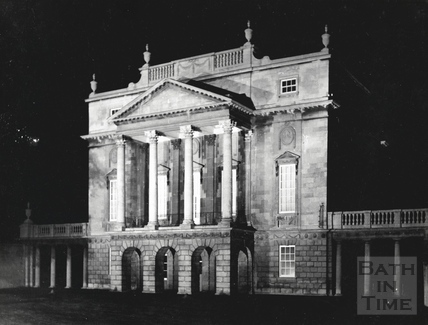 The Holburne Museum, floodlit c.1950s?